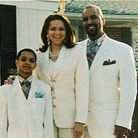Angelo, Felicia, and Grant Henderson